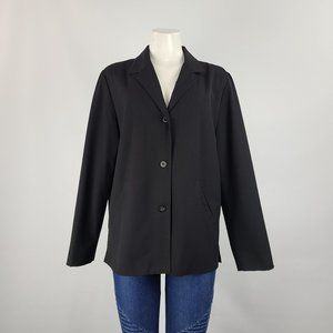 Liz Claiborne Black Blazer Size M